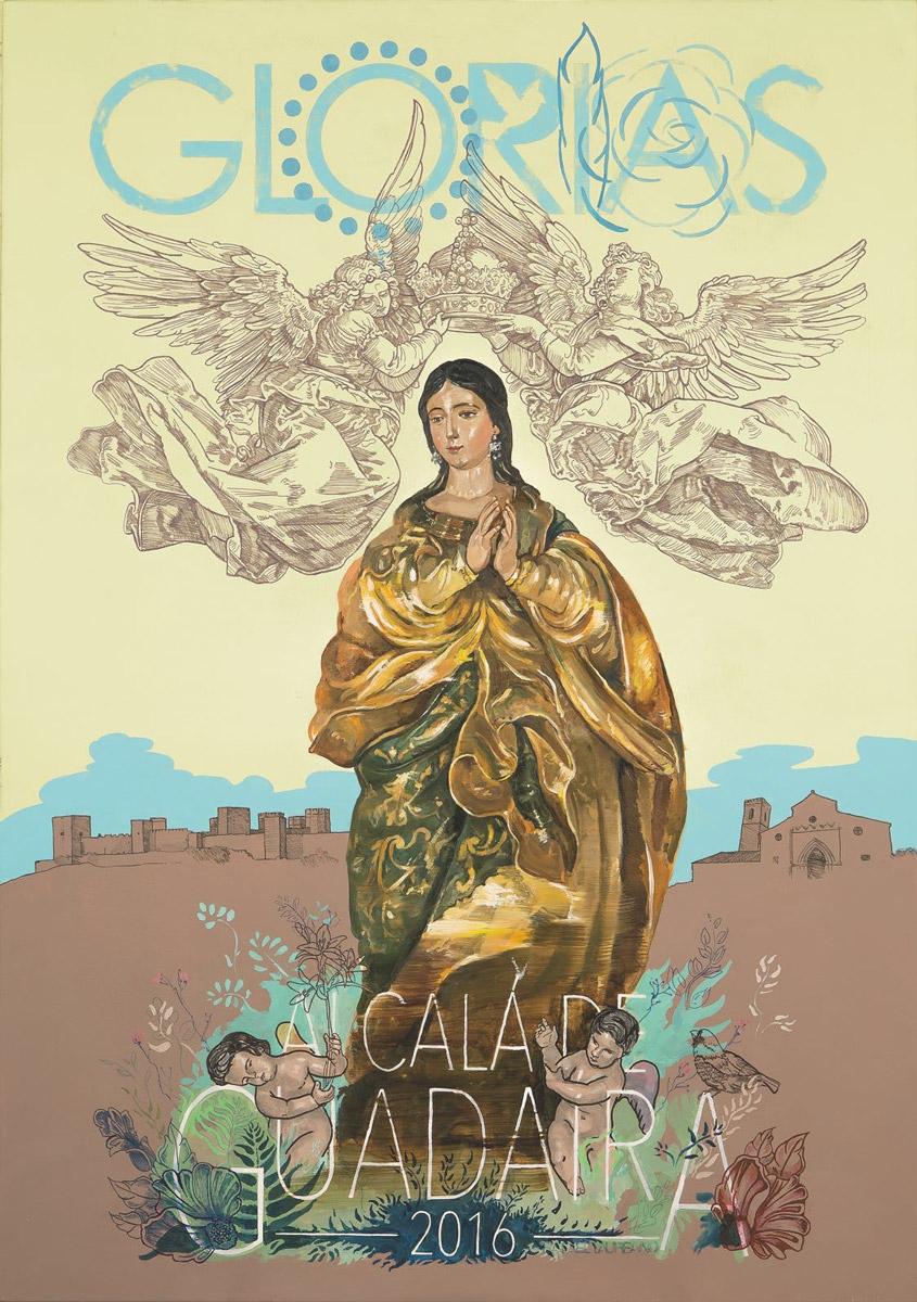 Cartel del las Glorias 2016 Alcalá de Guadaíra