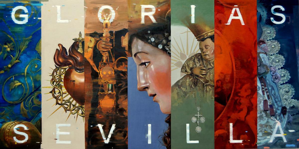 Cartel del las Glorias de Sevilla