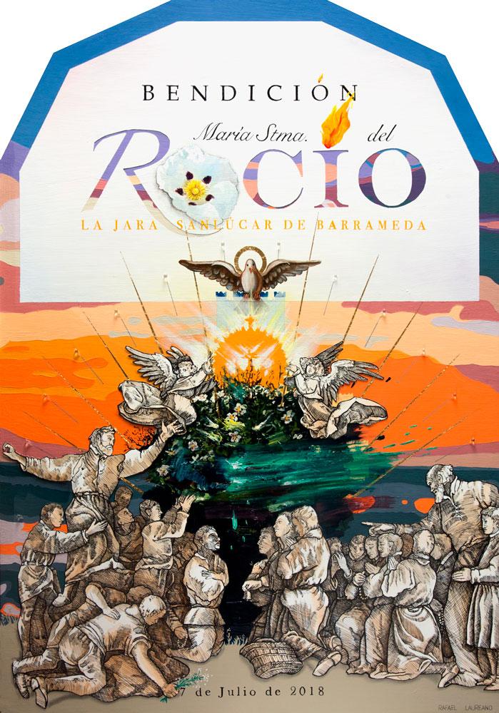 Cartel Bendición de la nueva Virgen del Rocío