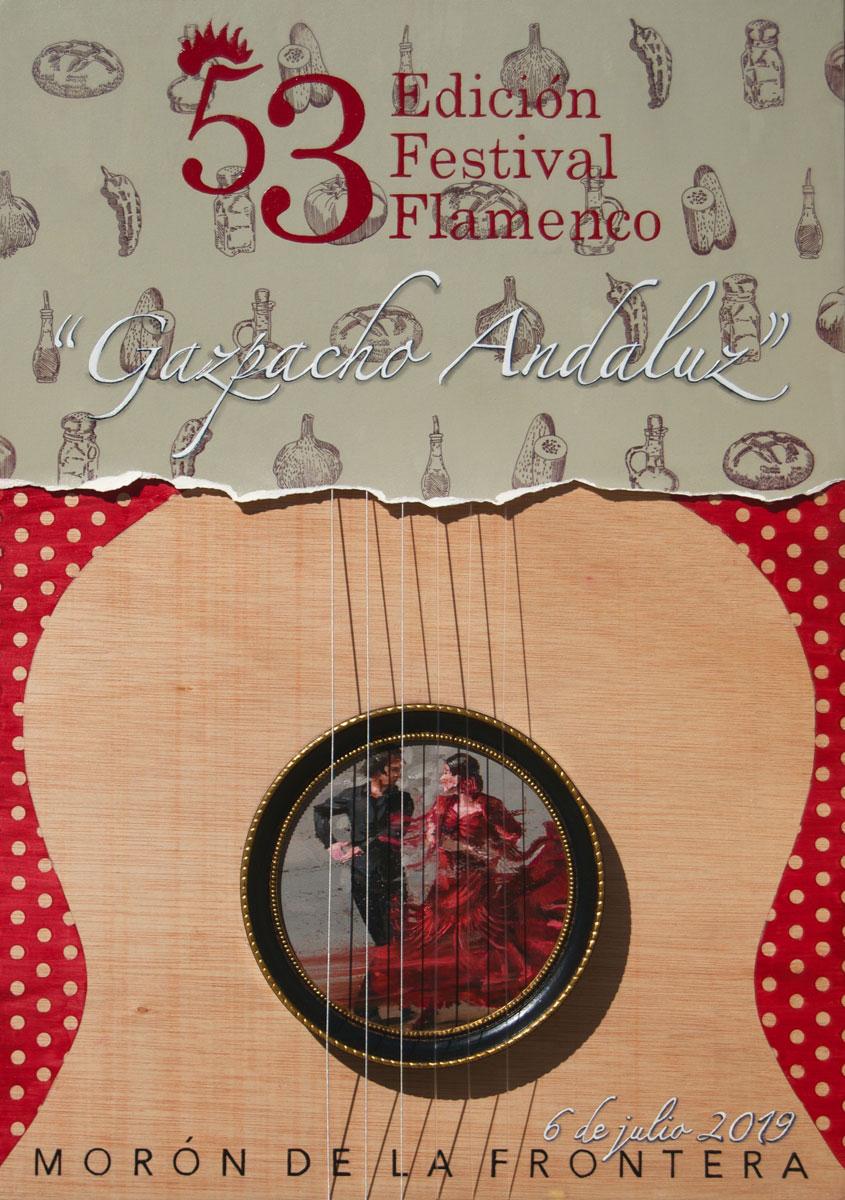 Cartel Recetario Andaluz y Flamenco